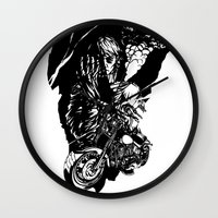 rush Wall Clocks featuring Rush. by Ale PBrey