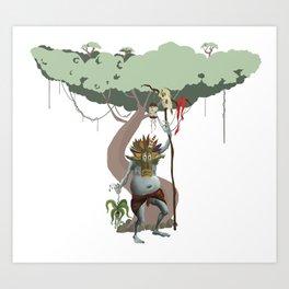 oak sage Art Print