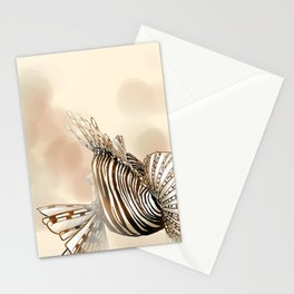 Poisson : Rascasse Stationery Cards