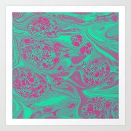 Marble Space Art Print