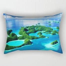 70 Wild Islands Palau Rectangular Pillow