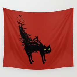 Freaking Meow Wall Tapestry