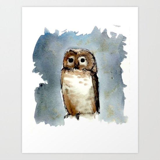 Little, Brown Art Print