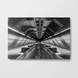 Jamaica-Van Wyck Subway Metal Print