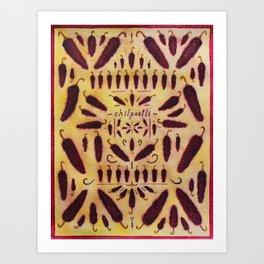 Chilpoctli  Art Print