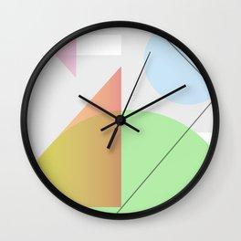 Geometric Calendar - Day 32 Wall Clock