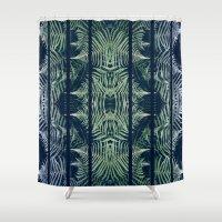 fern Shower Curtains featuring Fern by Good Sense