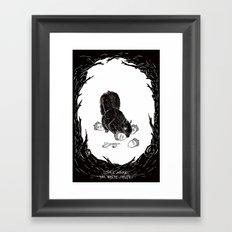 Little Acorns - The White Stripes Framed Art Print