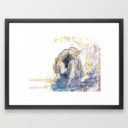 You came back  Framed Art Print