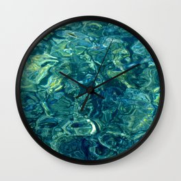 Mar de las calmas Wall Clock