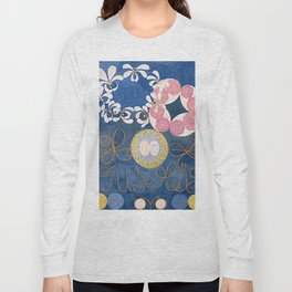 The Ten Largest No. 01 Childhood Group IV Hilma Af Klint Long Sleeve T-shirt