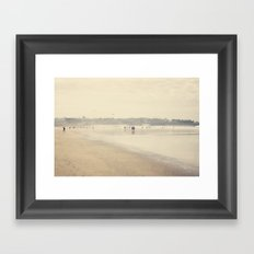 beach life III Framed Art Print