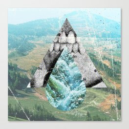 With Teeth Canvas Print