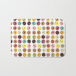 Eat all the donuts Bath Mat
