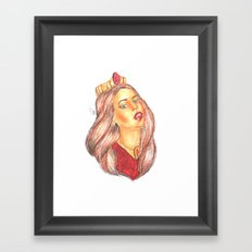 Princess Lana Framed Art Print