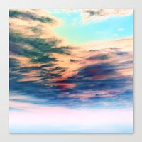 heaven Canvas Prints featuring Heaven by Amy Sia