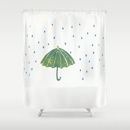 Umbrella Shower Curtain
