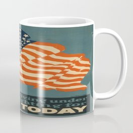 Vintage poster - Enlist Today Coffee Mug