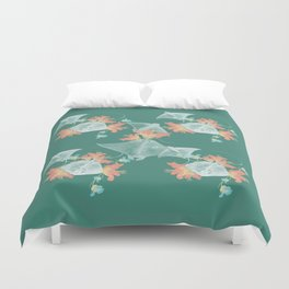 Lilies that sting Duvet Cover