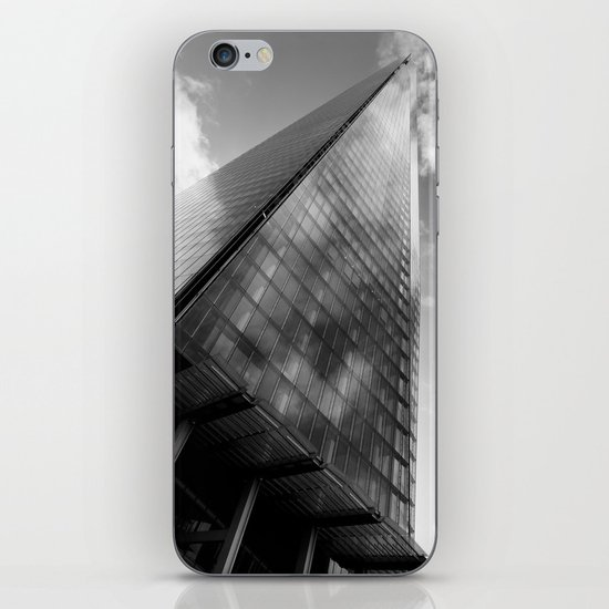The Leaning Shard Of London  iPhone & iPod Skin