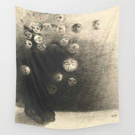 "Odilon Redon ""N'y a-t-il pas un monde invisible"" Wall Tapestry"
