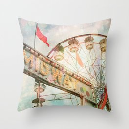 A Carnival In the Sky II Throw Pillow