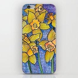 Spring Daffodils iPhone Skin