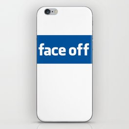2010 - Face Off iPhone Skin