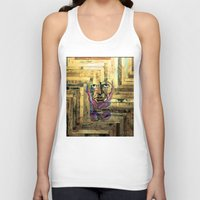 lincoln Tank Tops featuring Lincoln by aaronleeharris