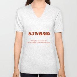 SINBAD Unisex V-Neck