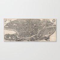 rome Canvas Prints featuring Rome  by Le petit Archiviste