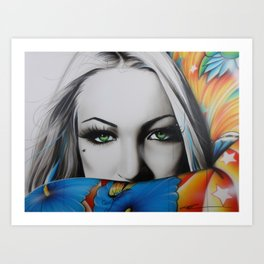 'Love Rainbow' Art Print