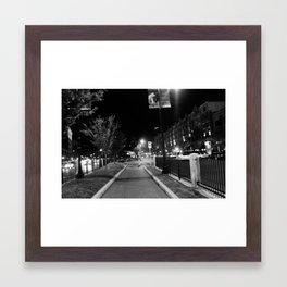 Kenmore sq Framed Art Print