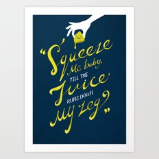 The Lemon Song Art Print