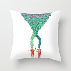 Some kind of nature inspired by Björk's music. Part 2. Throw Pillow