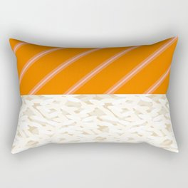 Salmon Sushi - the Yummy Collection Rectangular Pillow