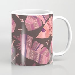 Boho Rose Love Abstract Coffee Mug