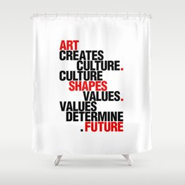 ART EFFECT Shower Curtain