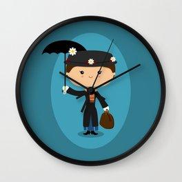 The Nanny Wall Clock