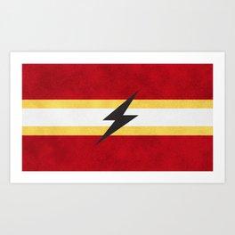 Flash of Color Art Print