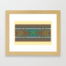 Aztec Hour Framed Art Print