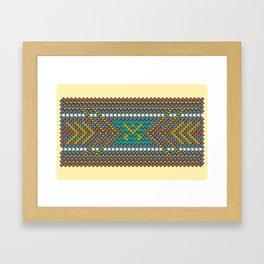 Aztec Hour Framed Art Print
