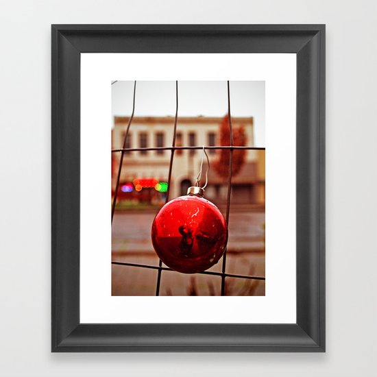 Urban ornament Framed Art Print