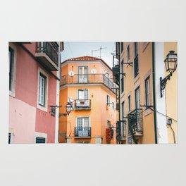 Lisbon Architecture Rug