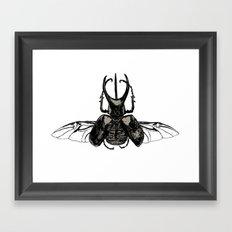 Scarab Two Framed Art Print