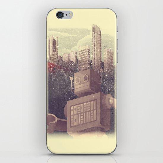 A City Snow-Bot iPhone & iPod Skin