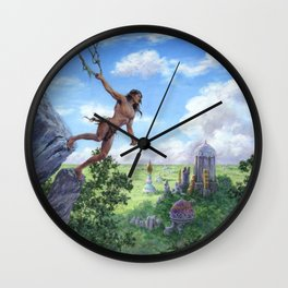 The Lost City of Opar Wall Clock