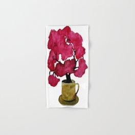 Cherry blossom Tree in Mug Hand & Bath Towel