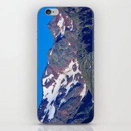 Feuerstein mit Bremer Huette iPhone Skin
