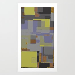 Circuits and Shapes II Art Print